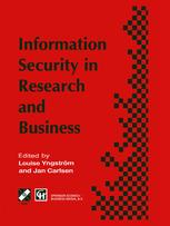 Information Security in Research and Business