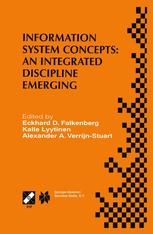 Information System Concepts: An Integrated Discipline Emerging