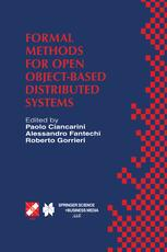 Formal Methods for Open Object-Based Distributed Systems