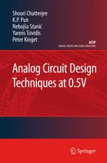 Analog Circuit Design Techniques at 0.5 V