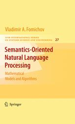 Semantics-Oriented Natural Language Processing