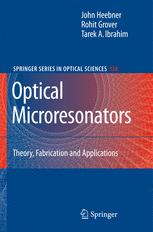 Optical Microresonators