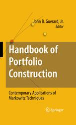 Handbook of Portfolio Construction