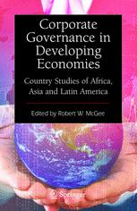 Corporate Governance in Developing Economies