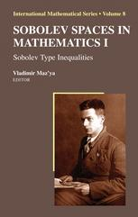 Sobolev Spaces In Mathematics I
