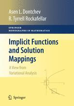 Implicit Functions and Solution Mappings