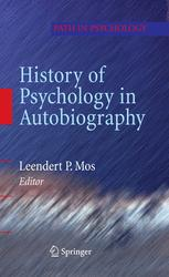 History of Psychology in Autobiography