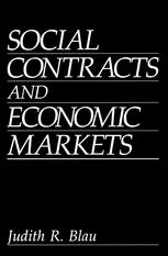 Social Contracts and Economic Markets