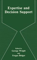 Expertise and Decision Support