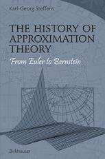 The History of Approximation Theory