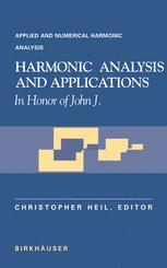 Harmonic Analysis and Applications