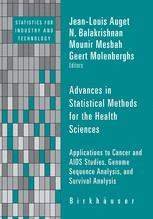 Advances in Statistical Methods for the Health Sciences