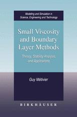 Small Viscosity and Boundary Layer Methods