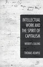 Intellectual Work and the Spirit of Capitalism