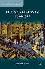 The Novel-Essay, 1884–1947
