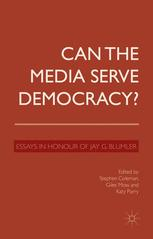 Can the Media Serve Democracy?