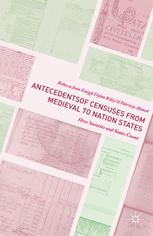 Antecedents of Censuses from Medieval to Nation States