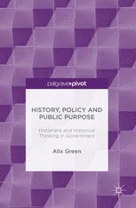 History, Policy and Public Purpose