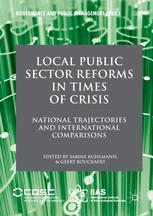 Local Public Sector Reforms in Times of Crisis
