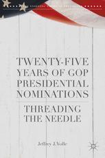 Twenty-Five Years of GOP Presidential Nominations