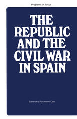 thesis on the spanish civil war The spanish civil war this book presents an original new history of the most important con- history through thesis-driven, concise volumes designed for survey and.