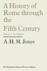 A History of Rome through the Fifth Century