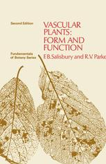 Vascular Plants: Form and Function