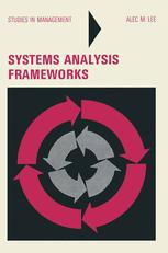 Systems Analysis Frameworks