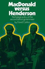 MacDonald versus Henderson
