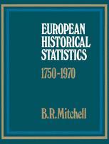 European Historical Statistics 1750–1970