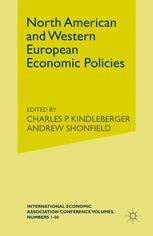 North American and Western European Economic Policies