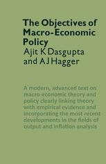 The Objectives of Macro-Economic Policy
