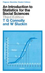 An Introduction to Statistics for the Social Sciences