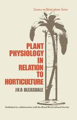 Plant Physiology in Relation to Horticulture