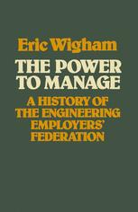 The Power to Manage