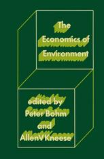 The Economics of Environment