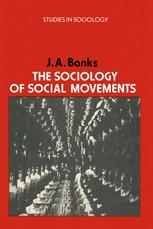 The Sociology of Social Movements
