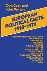 European Political Facts 1918–73