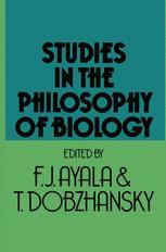 Studies in the Philosophy of Biology