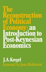 The Reconstruction of Political Economy