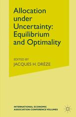 Allocation under Uncertainty: Equilibrium and Optimality