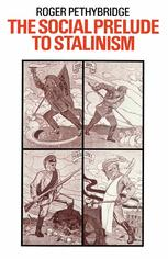 The Social Prelude to Stalinism