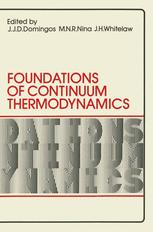 Foundations of Continuum Thermodynamics