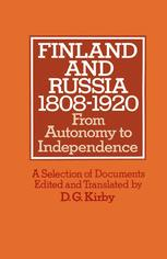 Finland and Russia 1808–1920