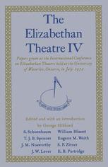 The Elizabethan Theatre IV