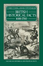 British Historical Facts, 1688–1760