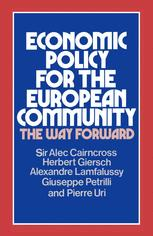 Economic Policy for the European Community
