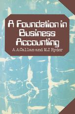 A Foundation in Business Accounting
