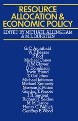 Resource Allocation and Economic Policy