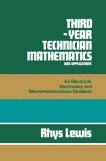 Third-year Technician Mathematics and Applications